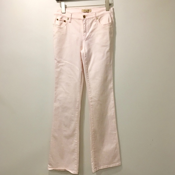 See By Chloe Denim - See by Chloe Bootcut Jeans Pink Stretch